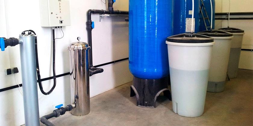 Как очистить скважину от соленой воды