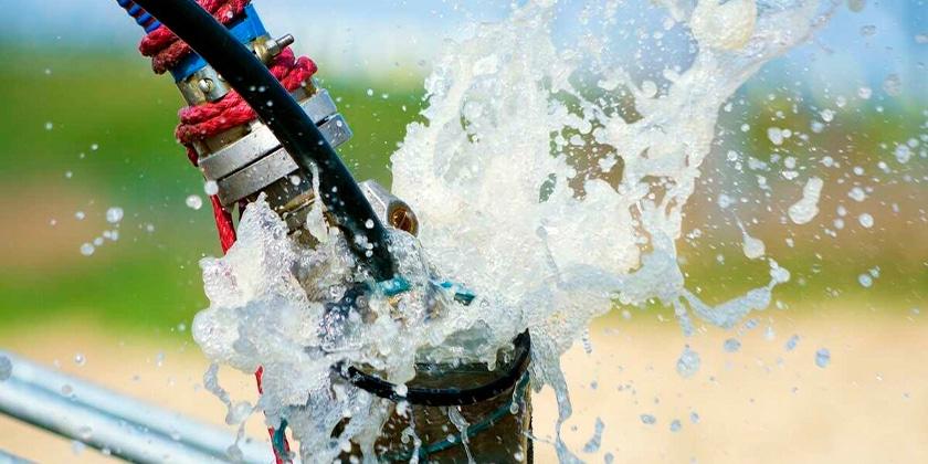 Прокачка скважины на воду компрессором