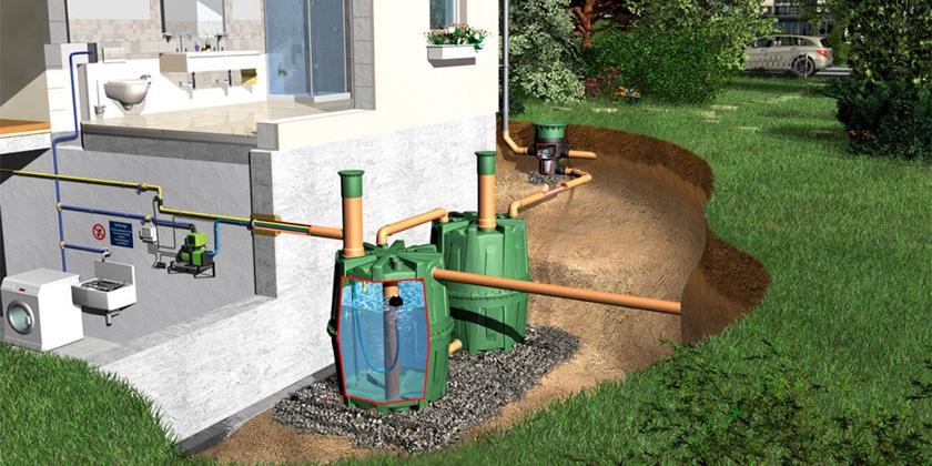 Водопроводная система на даче